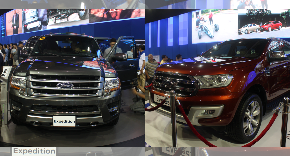 Ford philippines has once again managed to thrill car show enthusiasts as they debuted the all new everest and expedition platinum to go along with the rest