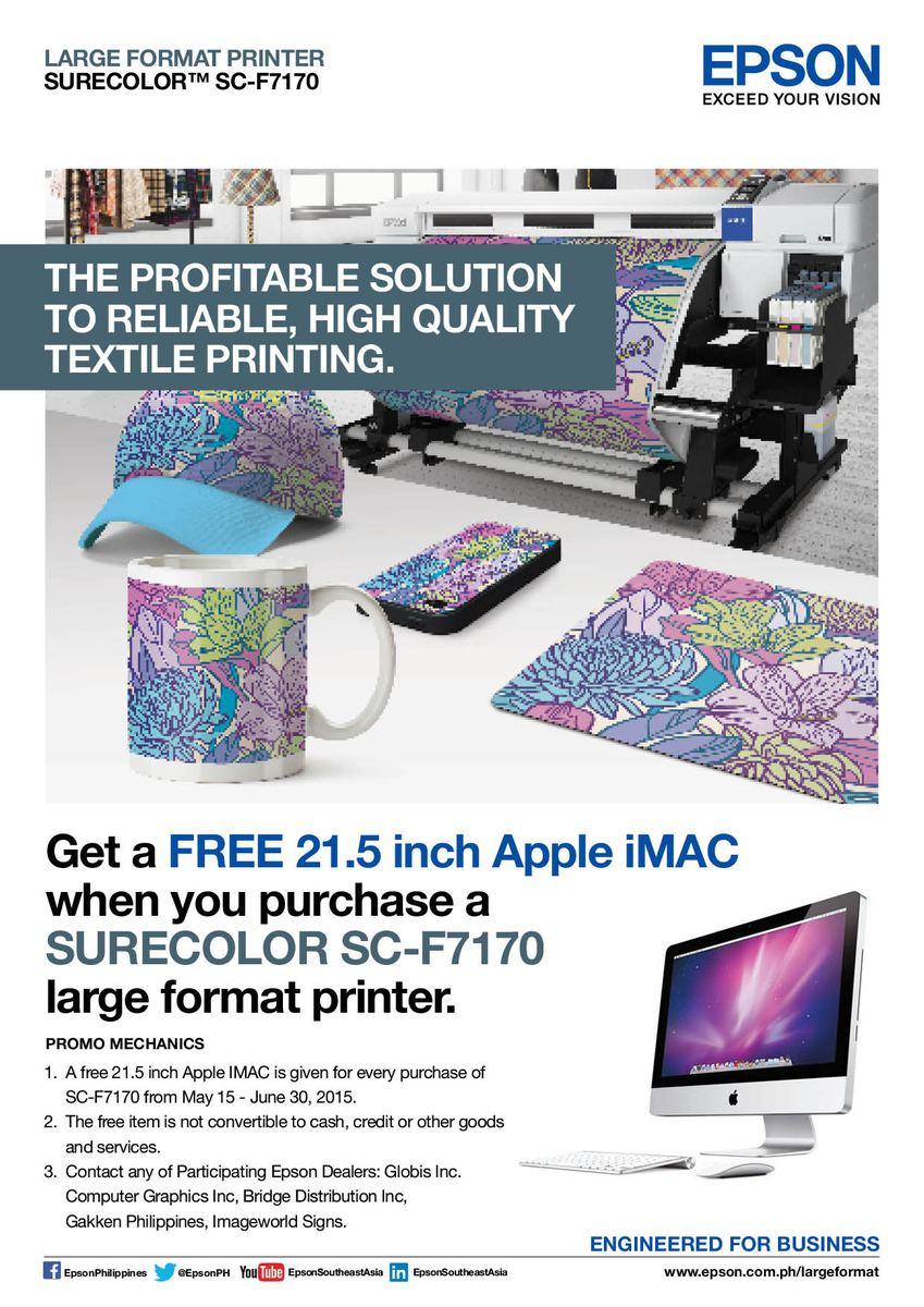 Imac discount coupons