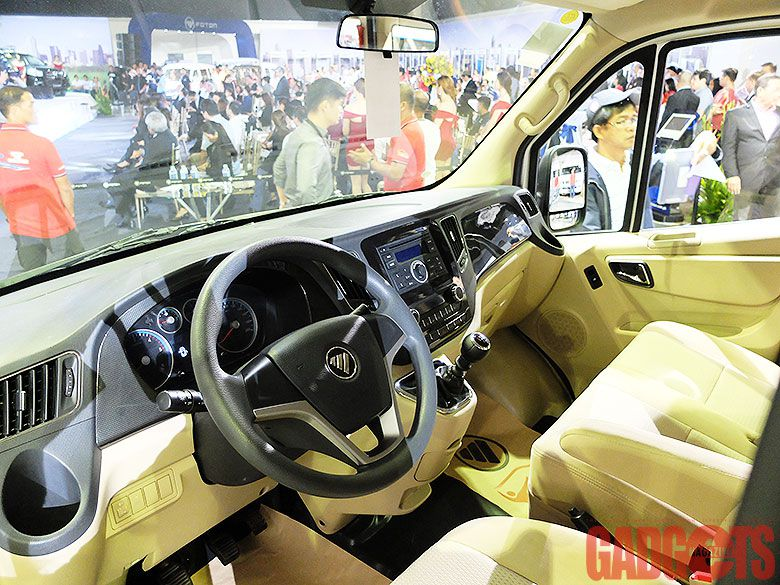 Foton Opens Big Show Launches Three New Vehicles With