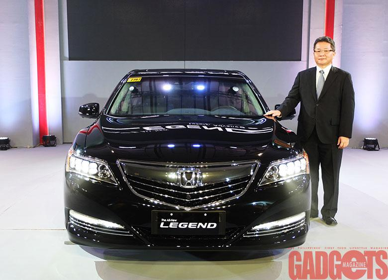 Honda launches the all-new Legend 3.5 Sport Hybrid SH-AWD | Gadgets Magazine Philippines