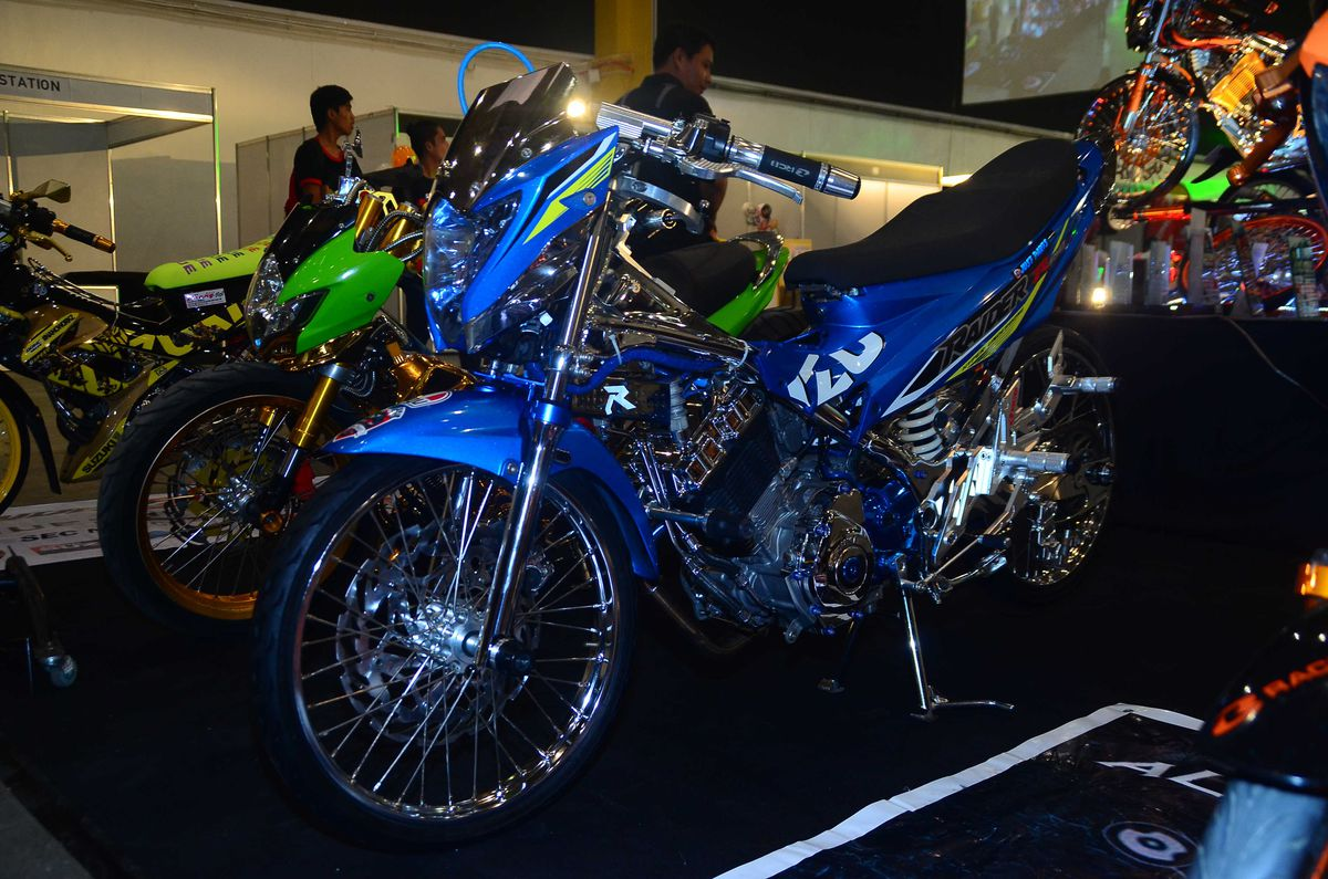 Johnie Rey Nabua Won The Best Concept Bike Title SPO3 Josing Gega Jr Nabbed Custom Award And Racing Distinction Went