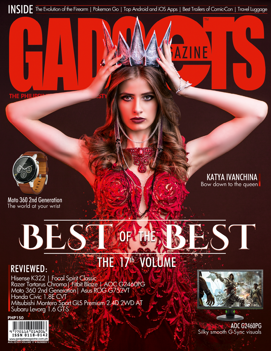 GADGETS Magazine Cover Issue