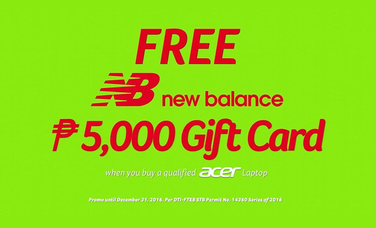 Acer and New Balance collaborate for #GoSwift holiday deals ...