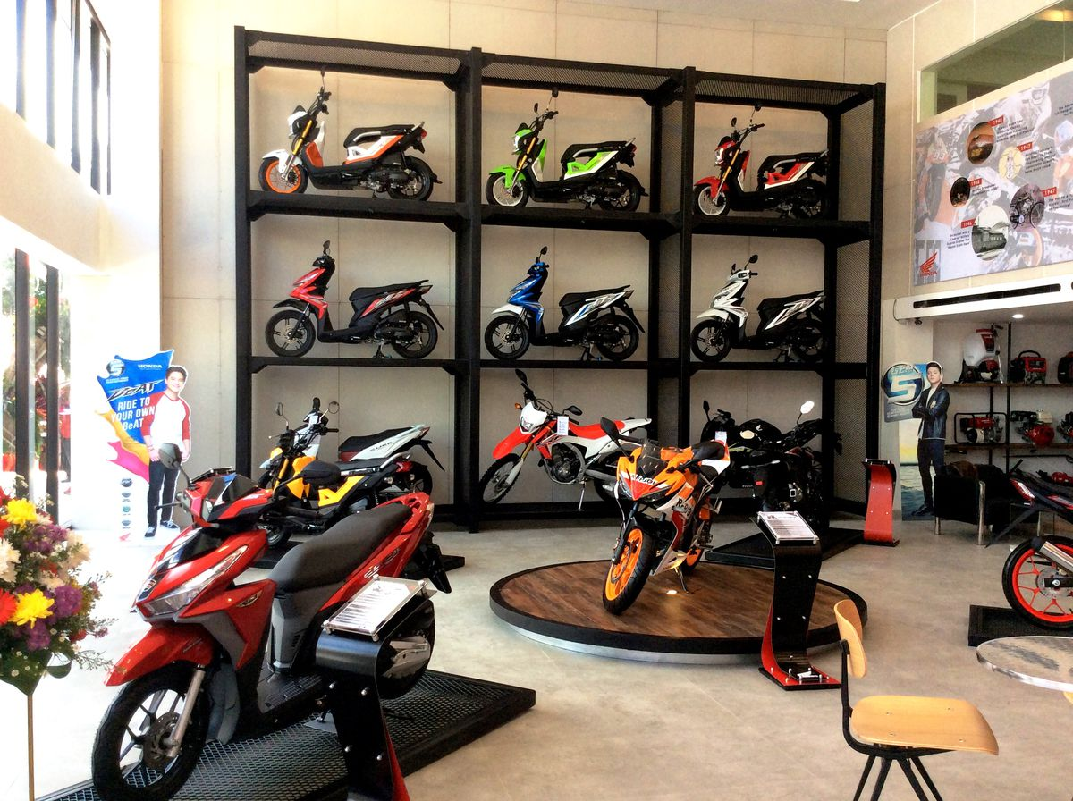 Honda motorcycles philippines website - New Branches Of The Honda Flagship Shop Are Set To Open In Davao And Manila On The 1st And 2nd Quarter Of Calendar Year 2017 Respectively
