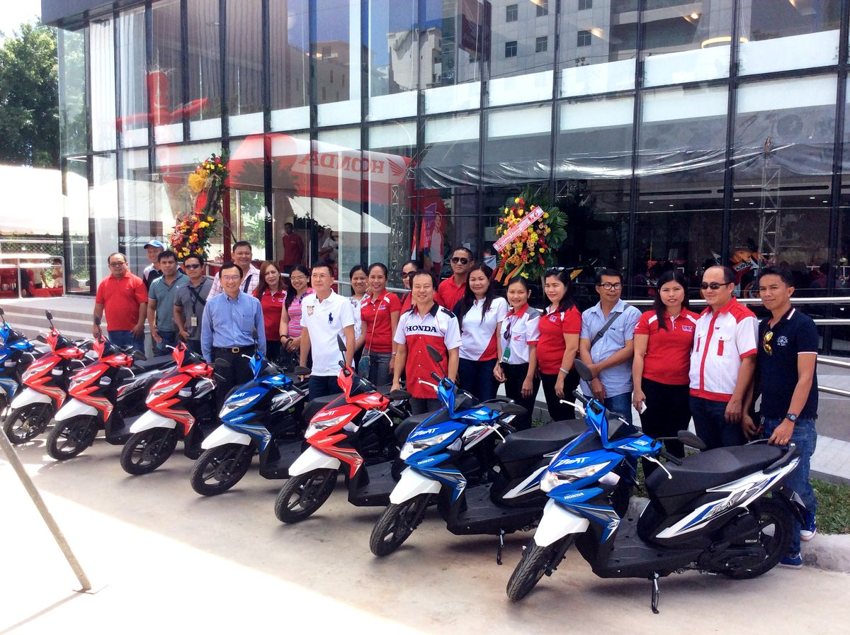 Honda motorcycles philippines website - Honda Philippines Inc Hpi In Partnership With Du Ek Sam Inc Just Recently Opened The Doors To Its Newest And Largest Retail Concept Store In The Country