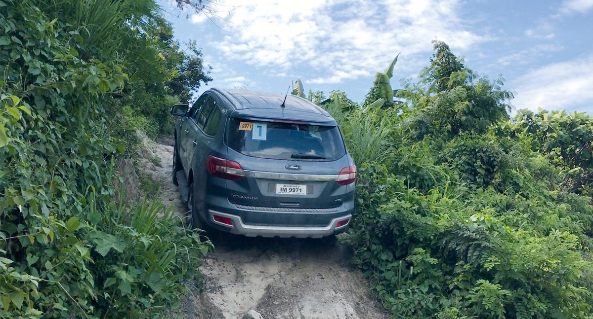 To put the ford everest to the ultimate test drivers in the event drove the everest from manila to the lahar beds of angeles pampanga
