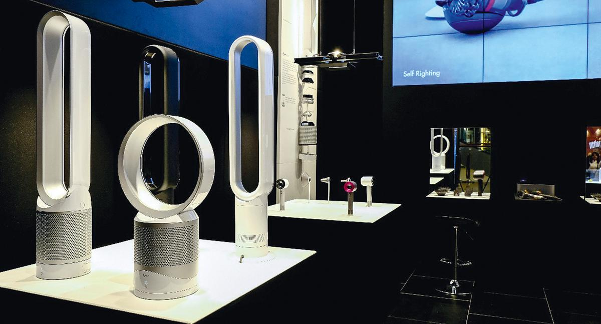 home dyson previews supersonic v8 and pure cool link. Black Bedroom Furniture Sets. Home Design Ideas